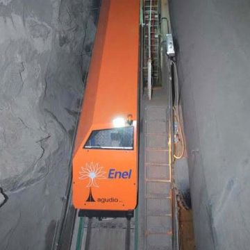 Special installation - Funicular Chiotas dam, Italy